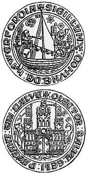 Haverfordwest town seal