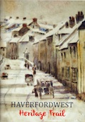 Haverfordwest Heritage Trail book cover